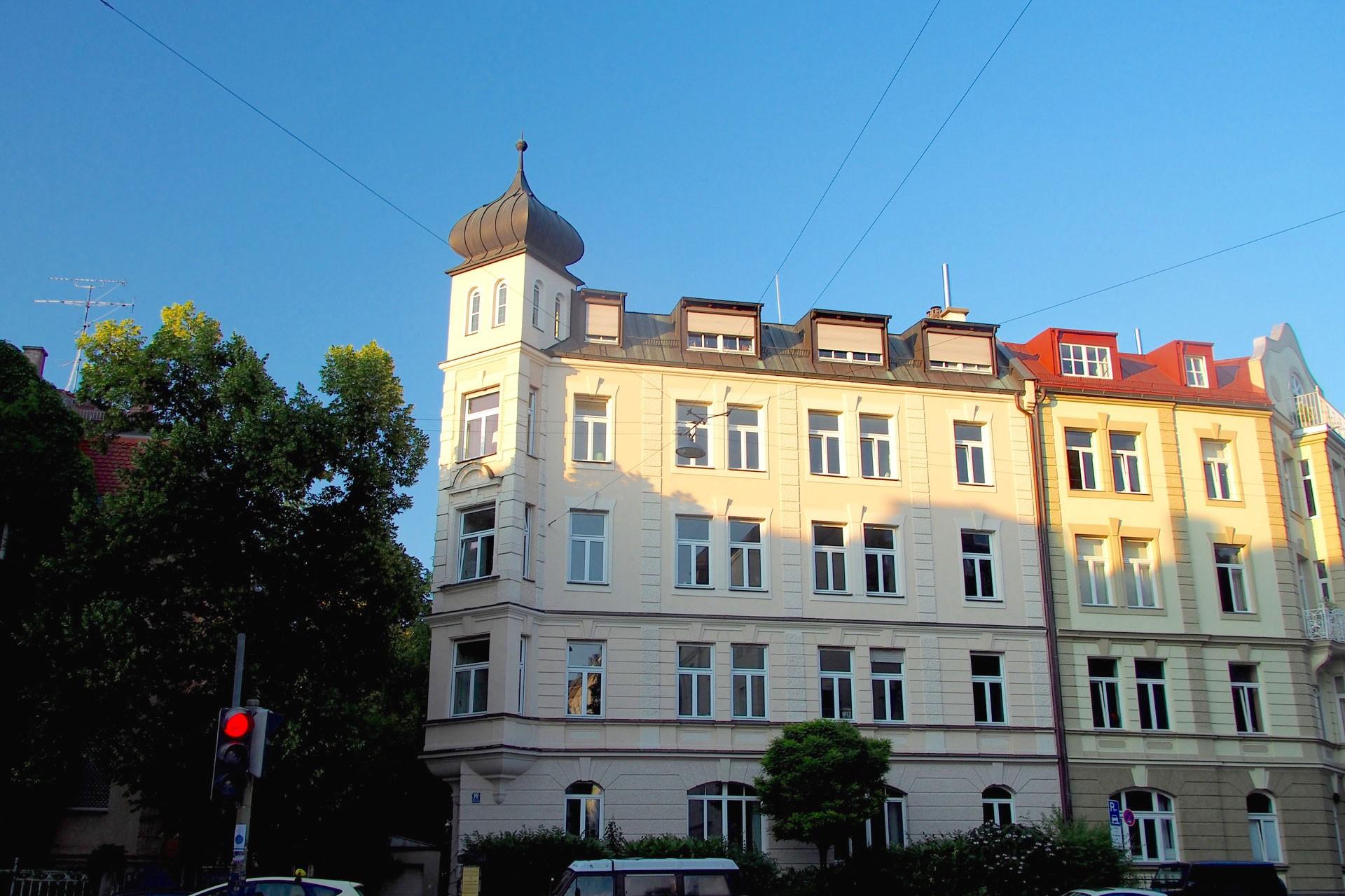 Haus in der Georgenstrasse in München Schwabing